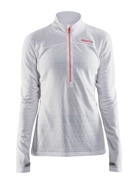 Craft Pin Halfzip Pullover Women White/Platinum